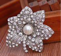 Wholesale 2015 Top Fashion Real Knot Car Styling Brazilian Virgin Hair Maple Leaf Popular Clothing Alloy Rhinestone Brooches Behalf Small Mixed Batch
