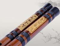 alto flute - Chinese Dizi Natural bamboo flute musical instrument CDEFG A B bB Key Professional two section of flauta