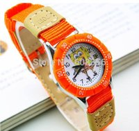 art wrist watch - fashion cartoon lovely cloth art quartz children watch low price kids Wrist Watch High Quality