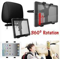 Wholesale Black adjust Car Back Seat Headrest Stand Mount Bracket Clip Backseat holder for iPad Mini for inch quot Tab Tablet PC