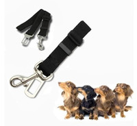 Wholesale Universal Dog Leash Auto Car Automobile Seatbelt Adapter Extender Car Vehicle Auto Seat Safety Safe Belt Seatbelt Lead Buckle for Dog Pet A