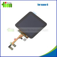 Wholesale 10 For Apple iPod nano th G LCD Display With all kinds of spare parts for mobile phone