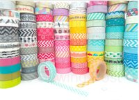 Wholesale Pick Whole Rolls of Assorted Washi Tapes Random delivery Gift DIY Tapes