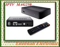 Wholesale Mag250 MAG Linux IPTV Set Top Box Processor STi7105 RAM Mb MAG IPTV BOX high Quality