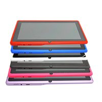 Wholesale 1pcs quot Q8 Android Bluetooth Allwinner A33 Quad Core WIFI Dual Camera M G Capacitive Screen inch Q88 Tablet PC