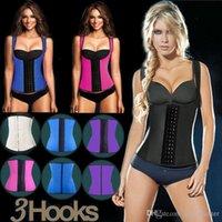 slim fast - Sport latex waist cincher trainer hot shaper fast weight loss girdle slimming belt waist training corset underbust