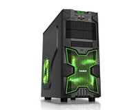Wholesale Computer Cases SaMa New Champions black casing Upright ATX gaming chassis
