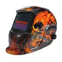 Wholesale Hot Sale New Pro Solar Welding Mask Auto Darkening Electric Welding Helmet Arc Tig Mig Grinding Auto Darkening Soldador Mask Helmet
