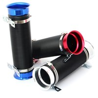 Wholesale RS MTX Universal Car Multi Flexible Extensible Cold Air Intake Inlet Pipe Tube Hose Engine turbocharger mushroom head Air filter