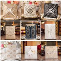 blank cards - SAMPLE Wedding Invitations Laser Cutting Invitation Card for Wedding Blank Inner Sheet Hollow Birthday Invitation