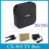Wholesale CX W8 Wintel Smart Mini PC Intel TV Box Atom Z3735F Quad Core Windows GB GB Android TV Box Mini Keyboard OTH130