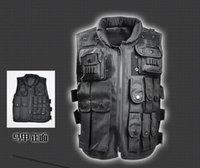 Wholesale CS CF Paintball Men Nylon Tactical Vest Hunting Combat Assault Vest Outdoor Training Waistcoat