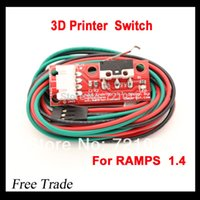 Cheap Endstop Mechanical Limit Switches 3D Printer Switch for RAMPS 1.4 Free Shipping Dropshipping