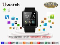 Cheap ePacket Uwatch High tech bluetooth smart updated u10 watch waterproof u10l Smart wrist uwatch for Android ios Phones and Smartphone