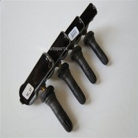 Wholesale 4New Genuine xTyre Pressure Sensor Tire Pressure Monitor for Ssangyong Actyon Korando Rodius MHZ