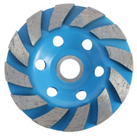 best granite - Best Price Inch Hole Diamond Segment Grinding CUP Wheel Disc Grinder Granite Stone In Stock