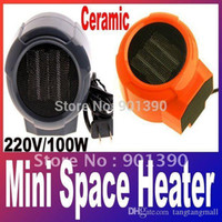 air force blower - Mini Portable Personal Ceramic Fan Forced Space Heater Electric v V W warm air blower A3