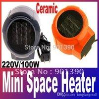 Precio de Air heater-Mini ventilador portátil de cerámica personal forzado calentador eléctrico 110v 220V / 100W soplador de aire caliente A3