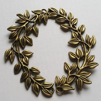 Wholesale 10pcs X43mm Metal Alloy Antique Bronze Big Branch Charms Pendant Jewelry Necklaces Accessory Findings