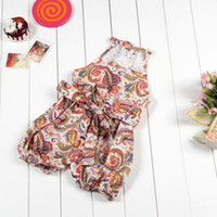 baby sun clothes - baby onesies newborn baby girl clothes Paisley printed Baby Girls Romper vintage rompers Summer Sun Suit
