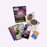 Wholesale BRAINETICS DELUXE SET DVD S PLAYBOOKS FLASH PLAYING CARDS PARENT MANUAL FOR Kids Intelligence Brain development