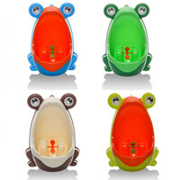 baby urinals - Fashion Large Cartoon penguin baby potty wall hung kids toilet portable potty training toilet boys pee trainer child urinal Potty