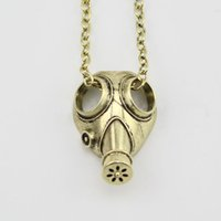 Mexican apocalypse movie - 2015 New Fashion movie jewelry Doctor Who anti silver steampunk apocalypse gas mask pendant necklace Statement Necklace