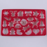 assorted cookies - New Arrivals Baking Decorating Tools PC Plastic Assorted Shapes Christmas Cookie Cutter Biscuit Mold X Mas Cookie Moldes