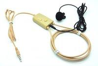 Wholesale Promotion super mini earphone New Watt powerful neckloop with micro earpiece hidden invisible earphone
