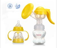 Wholesale Unisex Baby Milk Bottles High End Standard Caliber ml Manual Breast Pump Made Without BPA