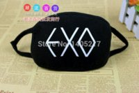 Wholesale Half Face Masks Design Of EXO Anti Dust Winter Motorcycle Mask Men Warm Dust Mask KZ49