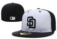mlb caps - MLB San Diego Padres Snapback Fitted Cap Embroidered Team Logo Baseball Cap Casual Style sport Hats