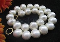 asian face cream - gt gt gt Beautiful quot mm cream south sea shell pearl necklace k gold filled clasp