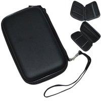 Wholesale 1 Portable Hard Disk Drive Twin Zipper Cover Bag Case quot HDD Bag Hardcase Black Color