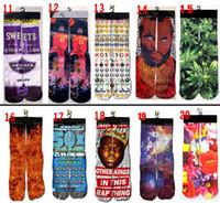 tiger print - 118 styles ODD socks kids women men hip hop socks D ODD socks cotton skateboard socks printed gun emoji tiger skull socks DHL UPS E31
