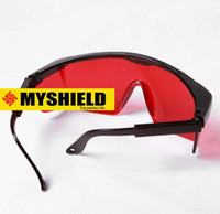 Wholesale New nm Eye Protection Goggles Green Blue Laser Safety Glasses Special job protection Desert eye protection EMS