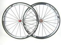 ace bike - 38mm dURA ACE Carbon Road Bike Wheels mm Width Rims Carbon Bicycles Wheelset Straight Pull Hub Novatec hub Front Rear Wheel