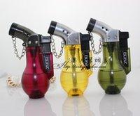 Wholesale Creative miniature perfume bottle small torch lighter windproof lighter gun hot lighter