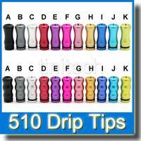 aluminum al - AL Drip Tips Drip Tip Wide Bore Serial Ecig Accessories Aluminum for Rda Rba E Cigarette Atomizer Mini Protank3 Subtank Colorful