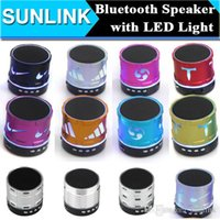 Cheap Free DHL 70 Kinds Series Mini Bluetooth Speaker LED Flash Handsfree Wireless Stereo Speakers Supports FM Radio TF Card USB for iPhone 6 6S
