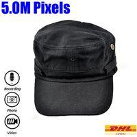 Wholesale Cap Hidden Spy Video Recorder M Pixels Hat Spy Camera with Remote control Hat Hidden Spy DVR Support Video Photo Audio HS
