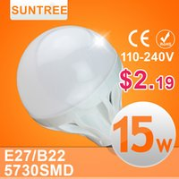 led bulb light 9w e27 - High Power E27 B22 Led Bulbs SMD W W W W W w W w LED Lamp V V Light Bulb For Home
