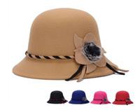 Automne Hiver Lady Chapeaux New Style Princesse Hat Big Wool Expédition Peluche Acessories Vintage Tendance Chapeaux gratuit