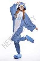 adult shoes costumes - 2016 Cosplay OWL Kigurumi Pajama No Shoes Pajamas Hooded Conjoined Sleepwear Costumes Adult Unisex Onesie Soft Sleepwear CC35