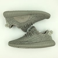 Wholesale 1 Yeezy Moonrock Oxford Tan Pirate Black White Full Black Running shoes snakers Kanye West Yeezy boost size eur