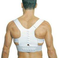 Wholesale 300pcs Adjustable Unisex Magnetic Posture Back Shoulder Corrector Support Brace Belt Adjustable Correct Posture Shoulder Corrector