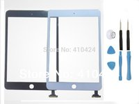 Wholesale New Touch Screen LCD Glass Digitizer Lens Panel Repair For iPad mini Tools order lt no track