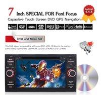 7inch 2 Din Android 4.4.4 Lecteur DVD de voiture pour Ford Transit / Galaxy / Focus / Mondeo / Fiesta / C-max / S-max / Kuga / Connecteur gratuit 8GB Carte CDVD0018