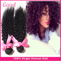 afro kinky human hair - 7A Mongolian Kinky Curly Hair Bundles Natural Black Afro Human Brazilian Kinky Curly Virgin Hair Brazilian Curly Virgin Hair