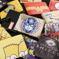 Wholesale New Marvel DC Cartoon wallet Superhero Flash Cartoon Wallet Baelerry Magic Purse Money Bag Mimco Pouch Thin Men Burse Fashion Brand Wallets